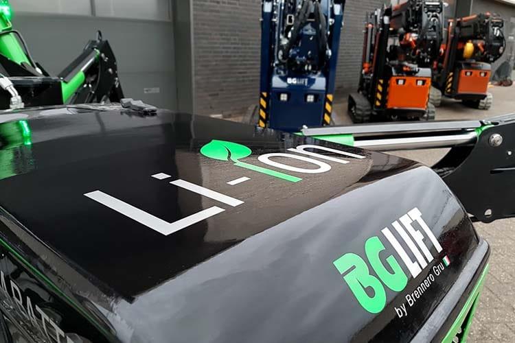 Bg Lift M250 Li-ion Lithium Elektrische Minihijskraan