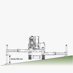 Bg Lift CWE525 Stabilisatie