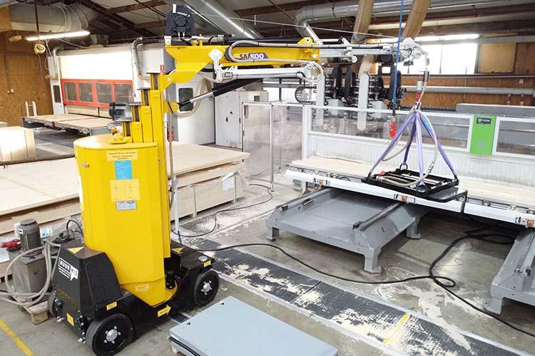 Imk35500 Minihijskraan Industrie hijskraan Elektrisch