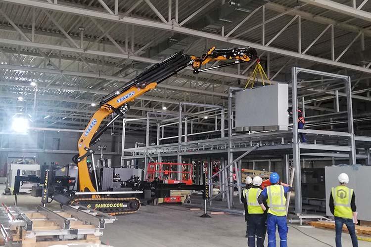 Bg Lift CWE525 Fabriekshal