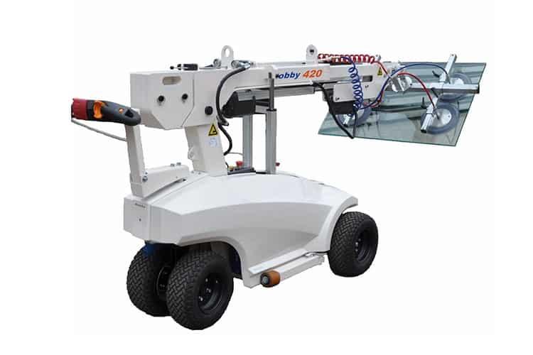 Robby 420 Glasrobot