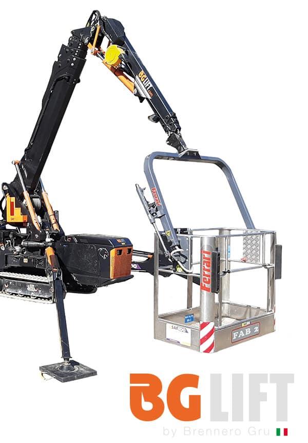 Bg Lift M250 met Werkbak