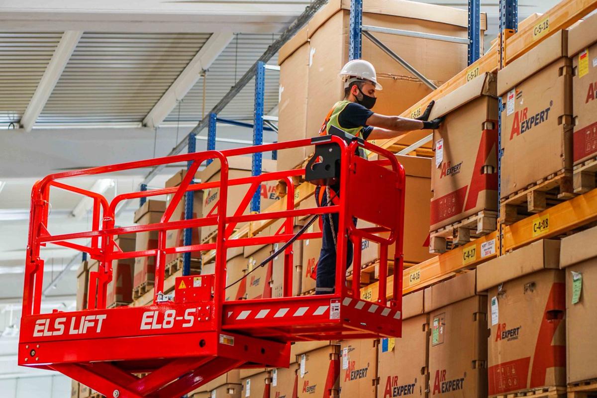 Els Lift EL8-S Schaarhoogwerker